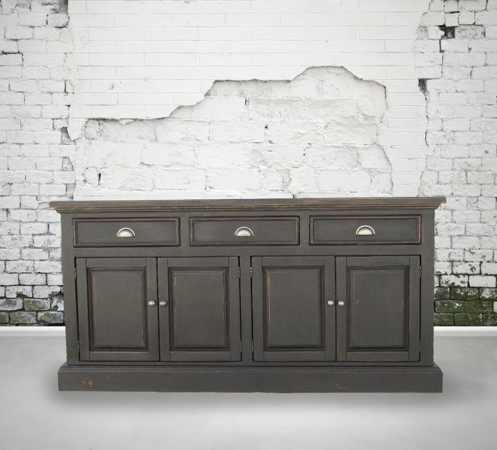 Sideboard Buffet Media Console Reclaimed Wood Table China