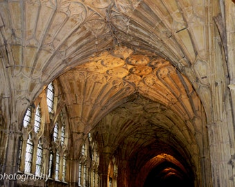 Gloucester Cathedral Photograph Print 6x4 or A4