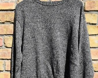 Vintage Knit oversized  cozy Sweater