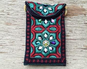 Turkish embroidered purse