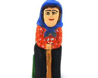 Women from the village - folk art / folk sculpture / folk