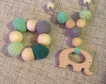 Crochet teething toy