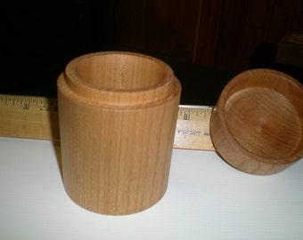 small cherry lidded box