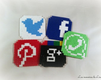 Coasters social networks