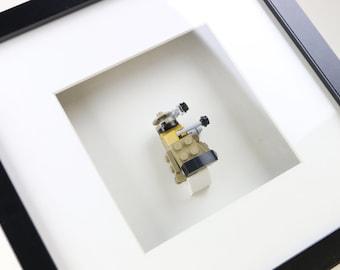 Doctor Who, Dalek, Brick Built LEGO Figure Frame