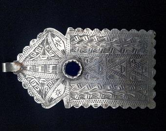 Morocco Silver Talisman LOUHA or MOSQUE door - Moroccan