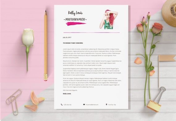 elegant résumé template 2 pages resume cover letter 1