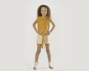 Mum's Girl Shorts Size 2-13 years old Shorts but Sweet - Coffee Check