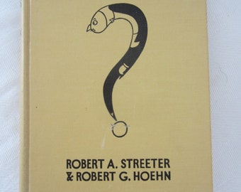 Rare 1932 Hardcopy of Are You A Genius? by Robert A Streeter & Robert G Hoehn