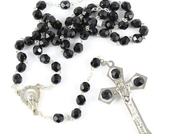 Rosary glass beads 7 mm