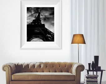 Paris Décor Eiffel Tower , The Eiffel Tower , Tour Eiffel , Fine Art Photography , Wall Art ,  Paris , France , City of lights , Europe
