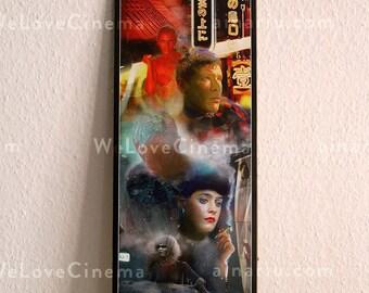Blade Runner Movie Poster Print 21x59,4 cm/ 8.3x23.4 in/ Half A2 size. Art Print Movie Poster. Original decoration Wall Design
