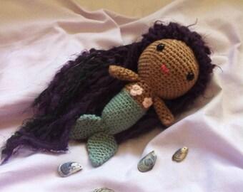 Customizable Crochete Mermaid