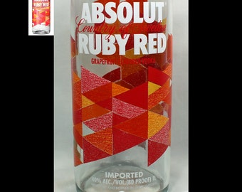 Absolut Ruby Red, Pears, or Berry Acai Tumbler/Beer Glass