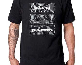 Cafe Racer x Motorcycle T Shirt, Cafe Racer, Bobber, Custom Motorcycle, Men's Tshirt