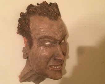 Hand made Mask/ Face Scupture