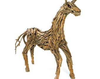 Driftwood Sculpted Horse LIFESIVE