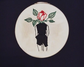 "Rose Lady 6"" Hoop"