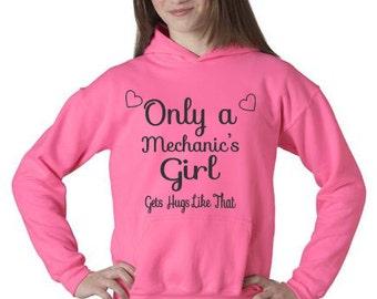 Mechanic sweatshirt, Girlfriend Sweatshirt, Sister sweatshirt, Mechanic girlfriend sweatshirt, mechanic girlfriend shirt, mechanic shirt