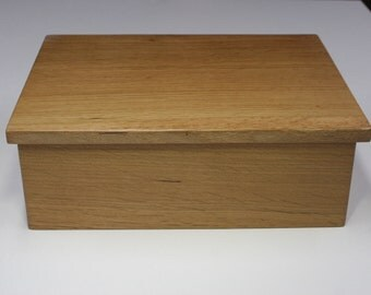 Jewelry Box, Keepsake Box, Treasure Box, or Presentation Box made from White Oak Quarter Sawn