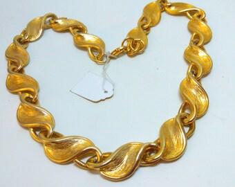 1950s, vintage necklace, chain necklace, 1850s necklace, statement necklace, vintage chain, wedding necklace, bride, bridal, wedding, 1950s