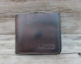 Men's Leather Wallet / Handmade Leather Wallet