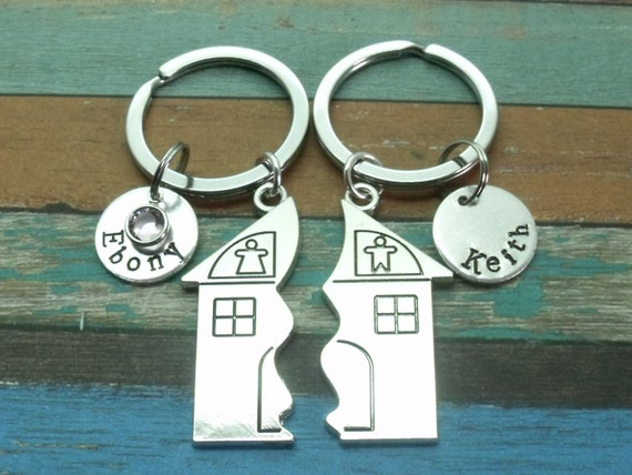 New Home Gift Personalised Name New Home Couples