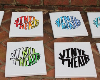 9x12 Vinyl Theatre Gradient Letter Paintings