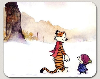 Comic Strip Calvin and Hobbes Mousepad
