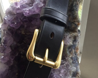 Bespoke Handmade Leather Belt MADE TO MEASURE
