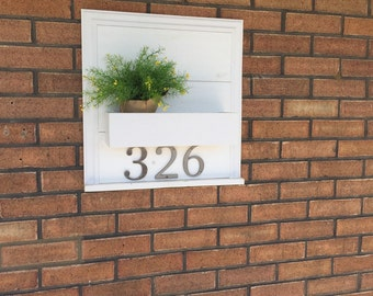 Home address planter box,