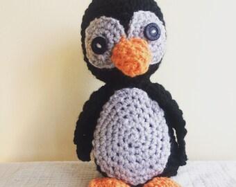 Soft cuddly penguin