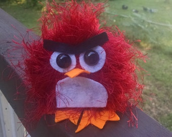 Yarn Animals -Red Angry Bird