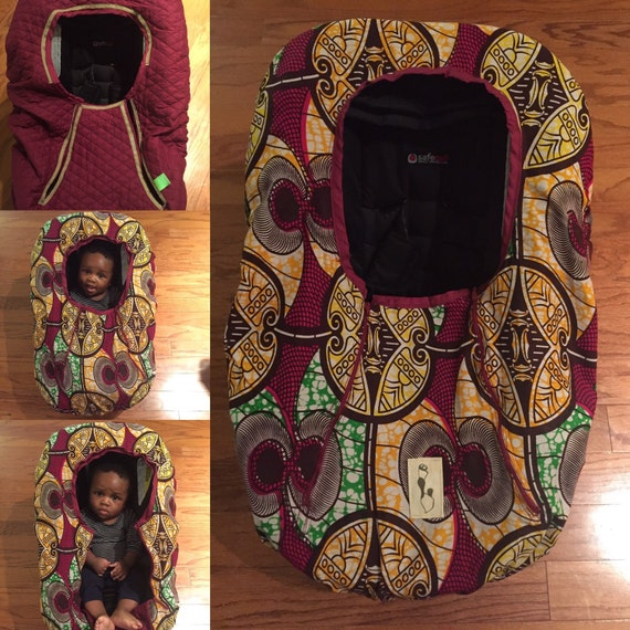 Car Seat Cover With Removable Quilted Lining By ABIKES On Etsy