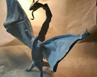 Ragged Canvas Dragon