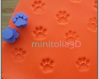 Paw Stamp, Cookie Stamp, Cake Decorating