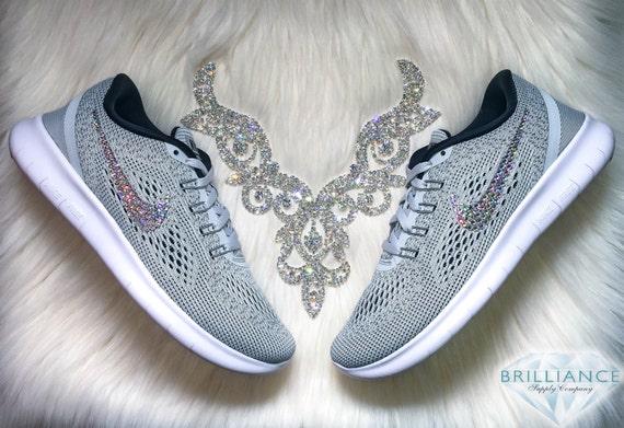 durable service Swarovski Nike Shoes Bling Nike Free 5.0 by  BrillianceSupplyCo 1c82fb3a7