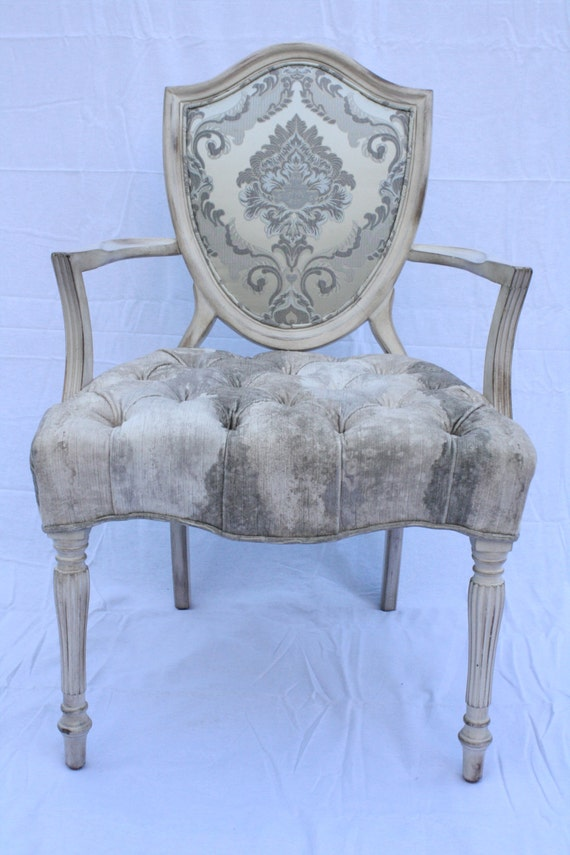 Beautiful Shield Back Accent Chair by DecoArtImportLLC on Etsy
