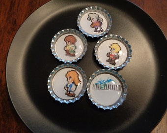 Final Fantasy III Sprite Magnets! Collect them all!