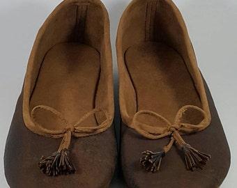 LABU BP Series, Leather Flat Shoes.