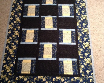 Table Topper    Wall hanging   Lap quilt