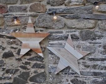 Rustic Pallet Star Reclaimed Wood Pallet Wood Home Decor Rustic Decor Rustic Star Pallet Star Wall Decor