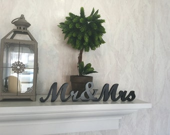 mr and mrs wood letters free standing wood letters unfinished wood letters wedding decor home decor word art word wall decor wooden word