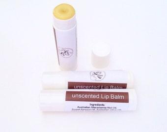 Handmade Natural Lipbalm -unscented