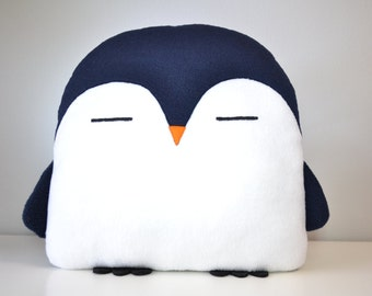 NEW! PLUMM the Penguin pillow kawaii handmade < 3