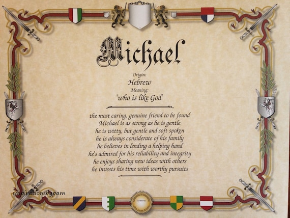 what does the name michael means
