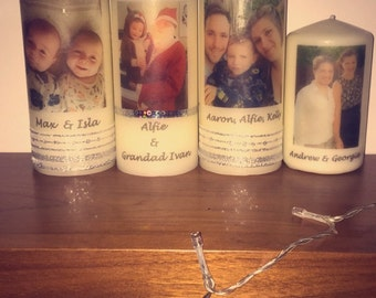 Personalised / customised candles