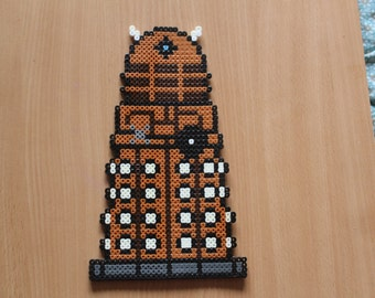 Dalek Hama Art - Doctor Who inspired Dalek