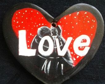 SALE:  Love Ornament