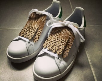 adidas stan smith with fringe